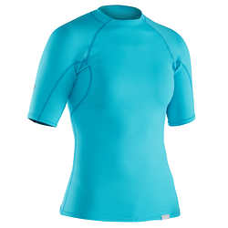 NRS Women's H2Core Rashguard Short-Sleeve Shirt