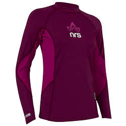 NRS Women's H2Core Rashguard Long-Sleeve Shirt - Closeout