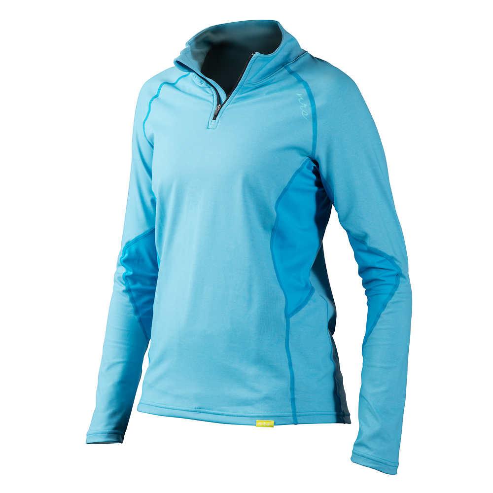 NRS Women's H2Core Lightweight Zip-Neck Shirt