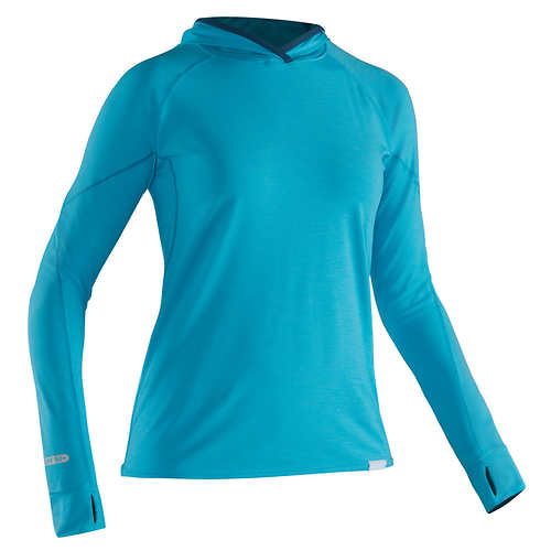 NRS Women's H2Core Silkweight Hoodie - Closeout