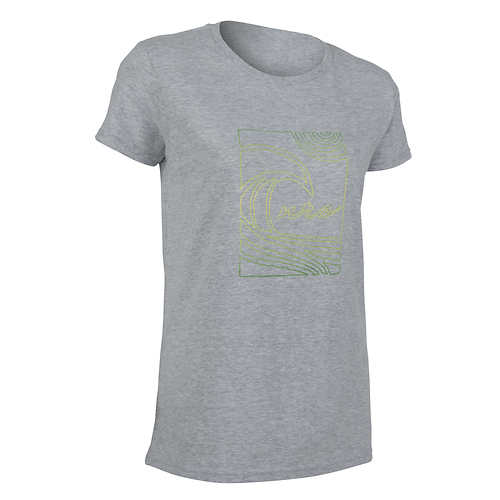 NRS Women's Heather Sunset T-Shirt - Closeout