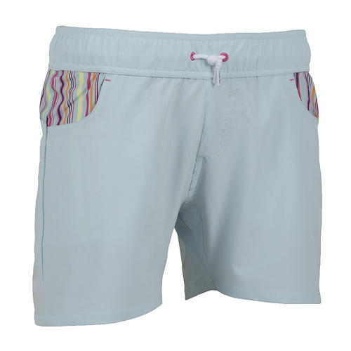 level six women's taiva shorts - closeout- Save 27% Off - Whether you're sticking a challenging SUP yoga move, making your daily paddle, or hanging out at the beach, the Level Six Taiva Shorts does it all.   The stretchy quick-drying material gives you comfort and style, on and off the water.  The elastic waistband with drawstring provides a comfortable and secure fit.  Two front pockets and a back pocket give plenty of room for the essentials.   5
