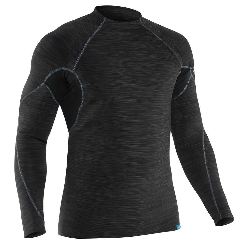 cef6d45c NRS Men's HydroSkin 0.5 Long-Sleeve Shirt (alternate image). Black