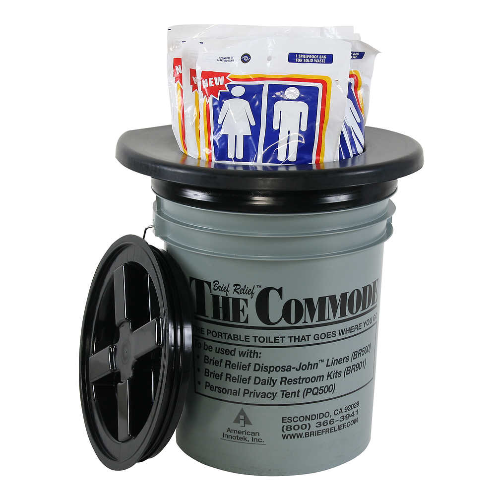 Restop Commode With Bags
