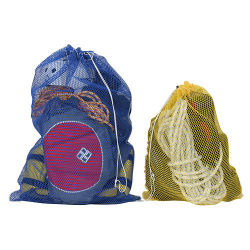 nrs mesh bags- Save 19% Off - Inexpensive nylon-mesh gear bags allow wet gear to dry quickly, help gather and secure loose and assorted equipment, and keep select beverages cool on a float. Find your own preferred use for these handy bags.  Features a drawstring closure with cord lock to keep everything in one nice bundle.  Measurements (sizes measured empty and flat): Small: 30