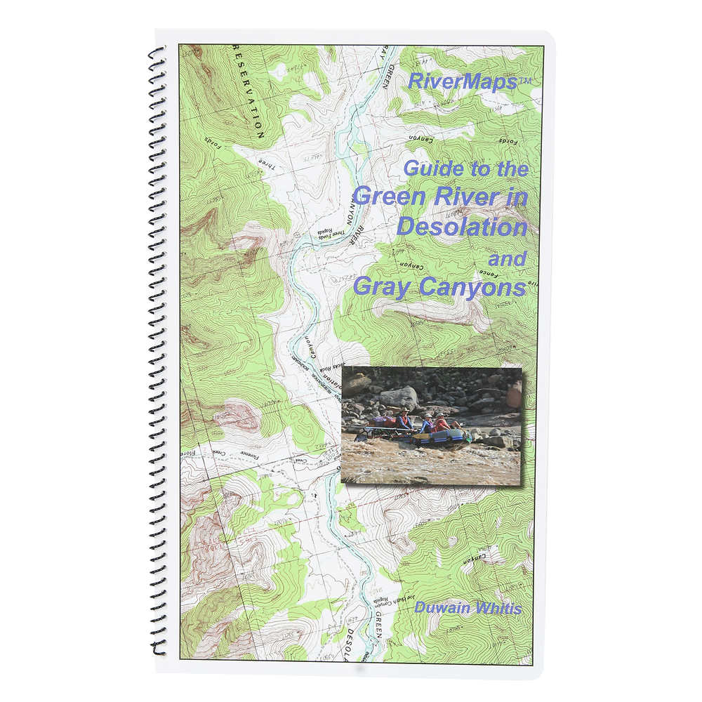RiverMaps Green River in Desolation & Gray Canyons Guide Book