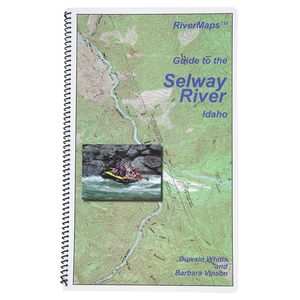 RiverMaps Selway River Guide Book