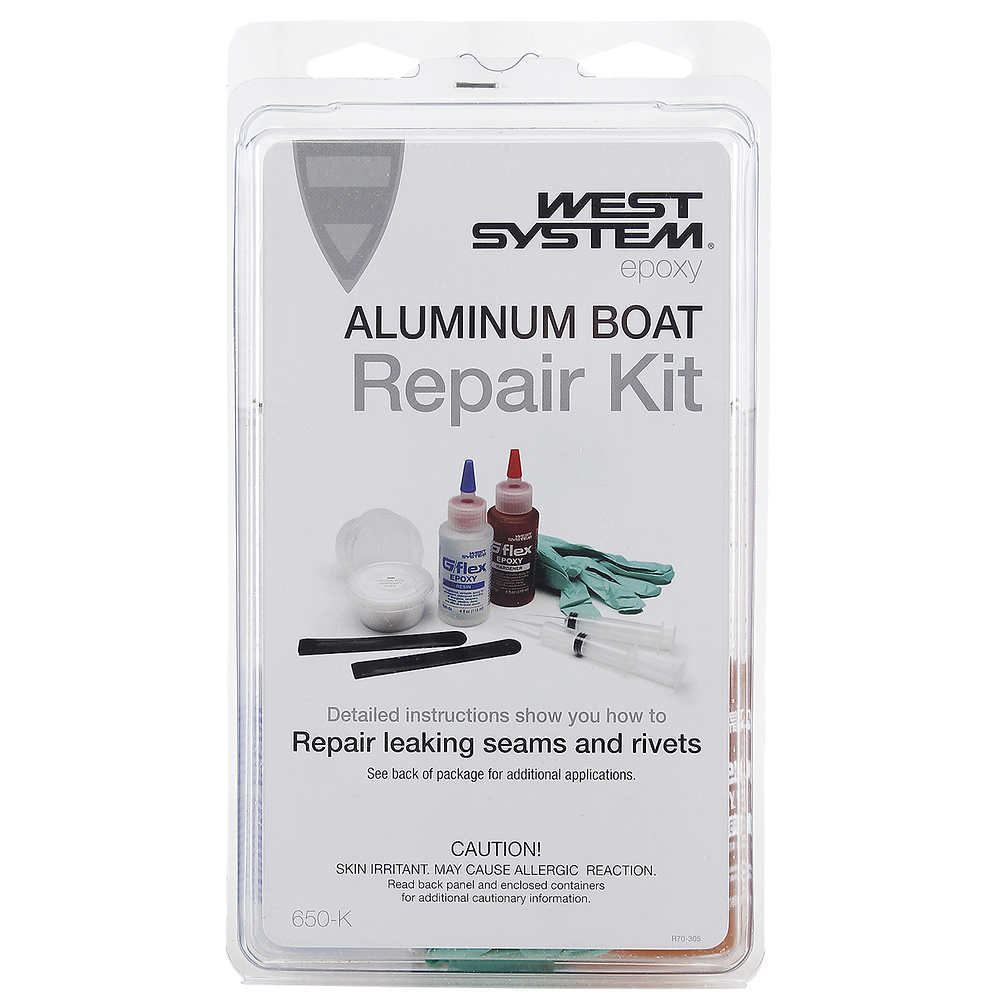 G/flex 650-K Aluminum Boat Repair Kit