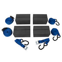 Deluxe Canoe Car Rack Kit