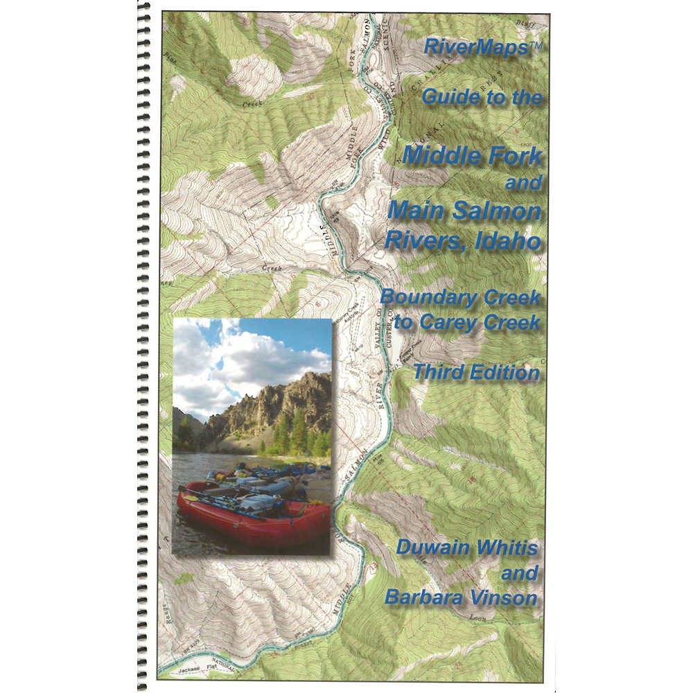 RiverMaps Middle Fork & Main Salmon River Guide Book at nrs.com on owyhee county, lostine river map, spokane river, river of no return map, snake river, willamette river map, yellowstone river map, whitefish river map, lake pend oreille, lewis county, quinnipiac river map, columbia river map, kootenay river, delaware river map, middle fork salmon river, hells canyon, albion river map, pend oreille river, clearwater river map, nestucca river map, sawtooth national recreation area, borah peak, susquehanna river map, salt river, may river map, boise river, the river wild, sawtooth range, snake river map, lemhi river, raft river map, connecticut river map, purple river map, santiam river map, clearwater river, colorado river map, clark fork, pocantico river map,
