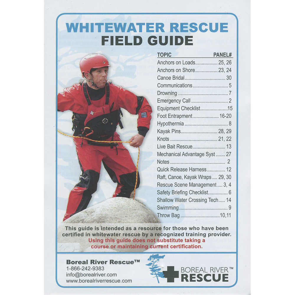 Whitewater Rescue Field Guide