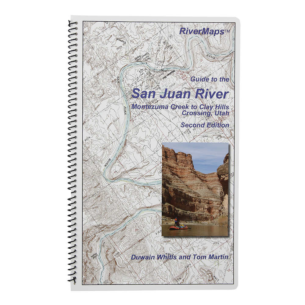 RiverMaps San Juan River 2nd Edition Guide Book