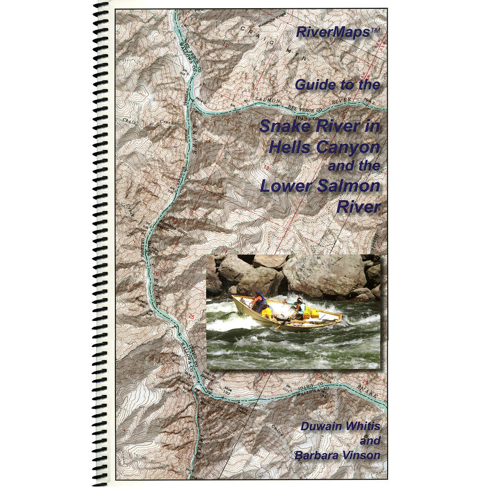 Rivermaps Hell S Canyon Lower Salmon Guide Book At Nrs Com