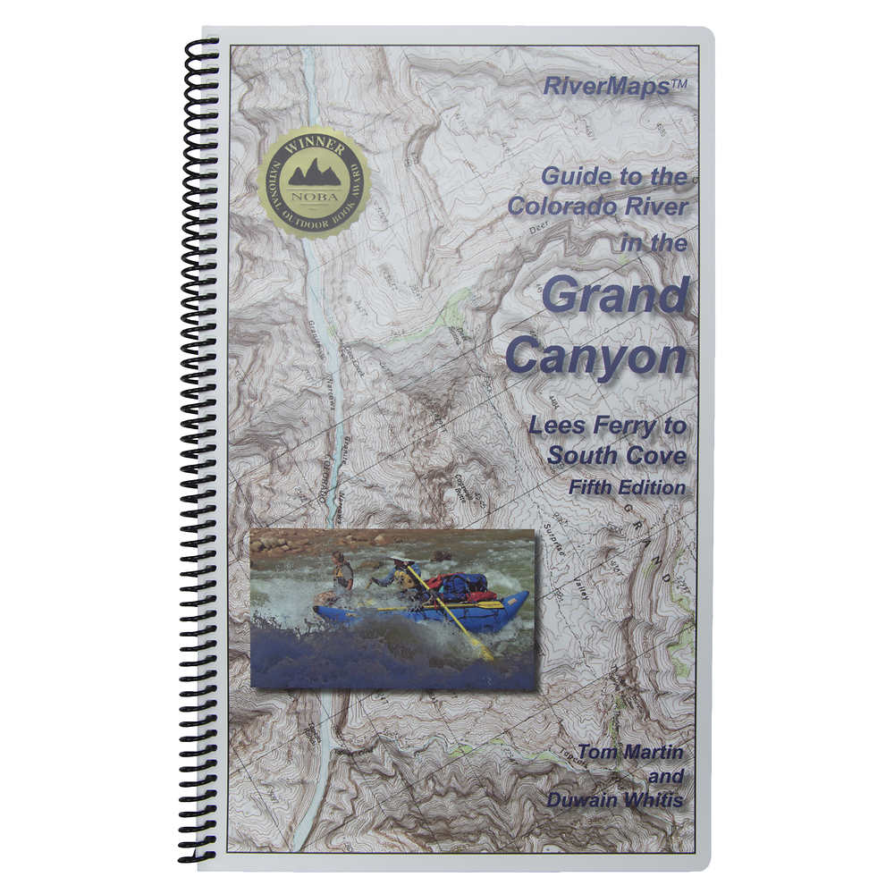 RiverMaps Colorado River in the Grand Canyon 5th Ed. Guide Book - Closeout