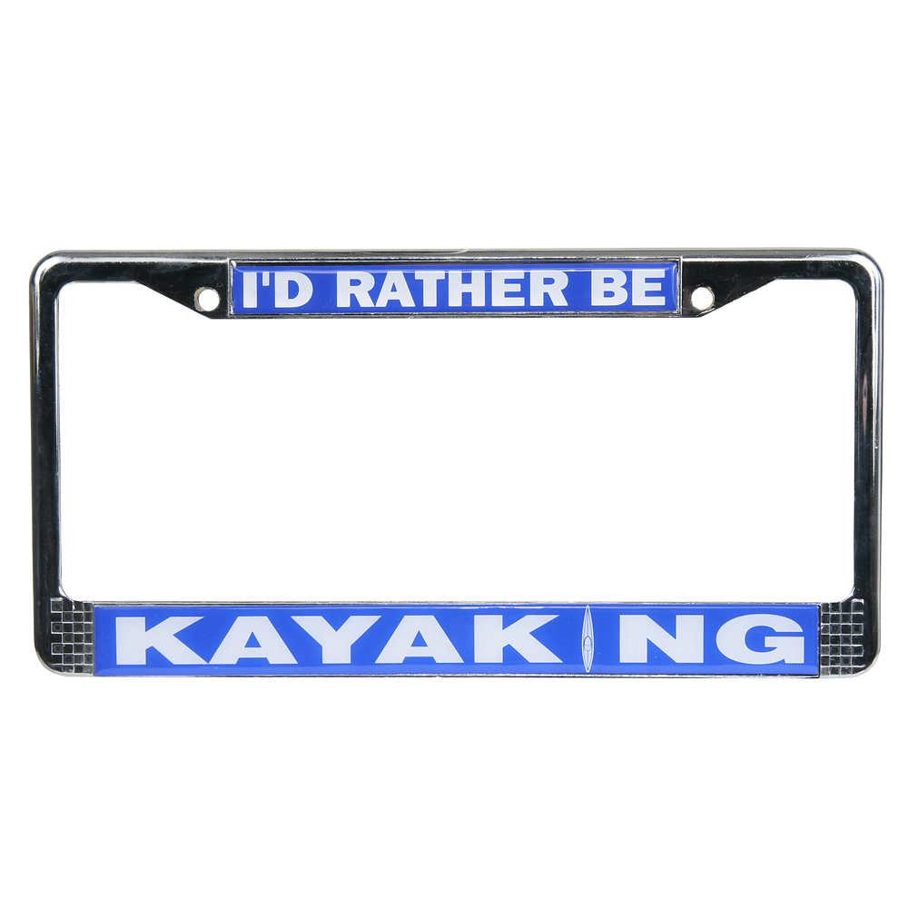 Kayaking License Plate Frame at nrs.com