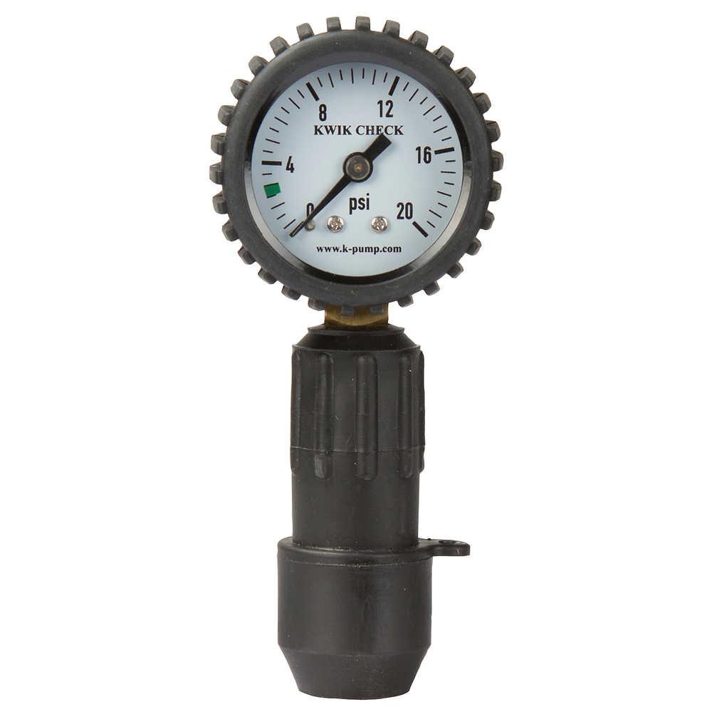 K-Pump Kwik Check Standard Pressure Gauge