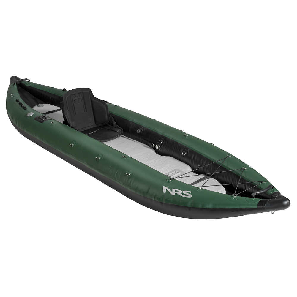 Nrs pike fishing inflatable kayak at for Fly fishing raft for sale