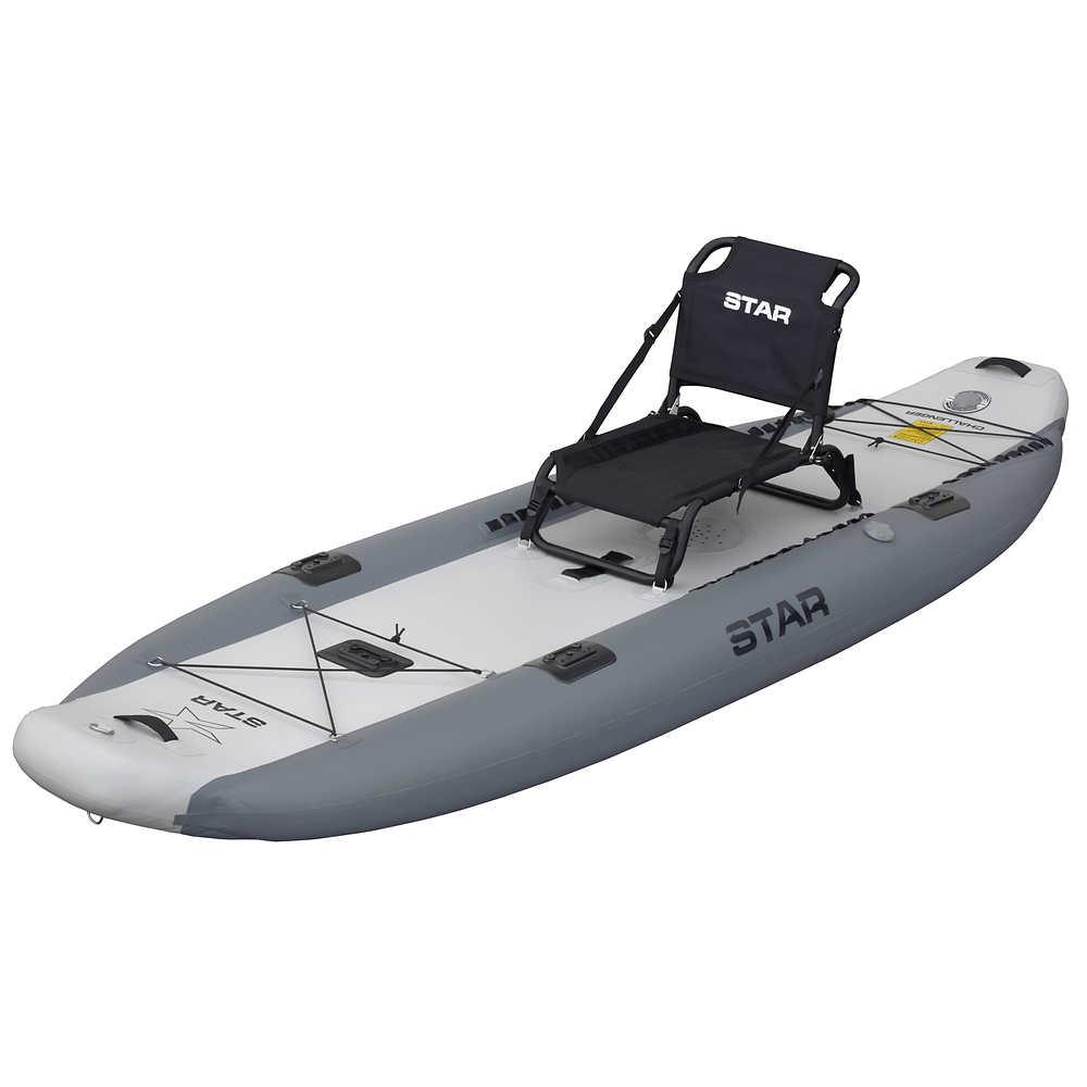 STAR Challenger Inflatable Fishing Kayak