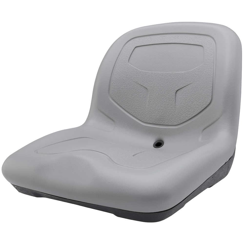 High-Back Padded Drain Hole Seat