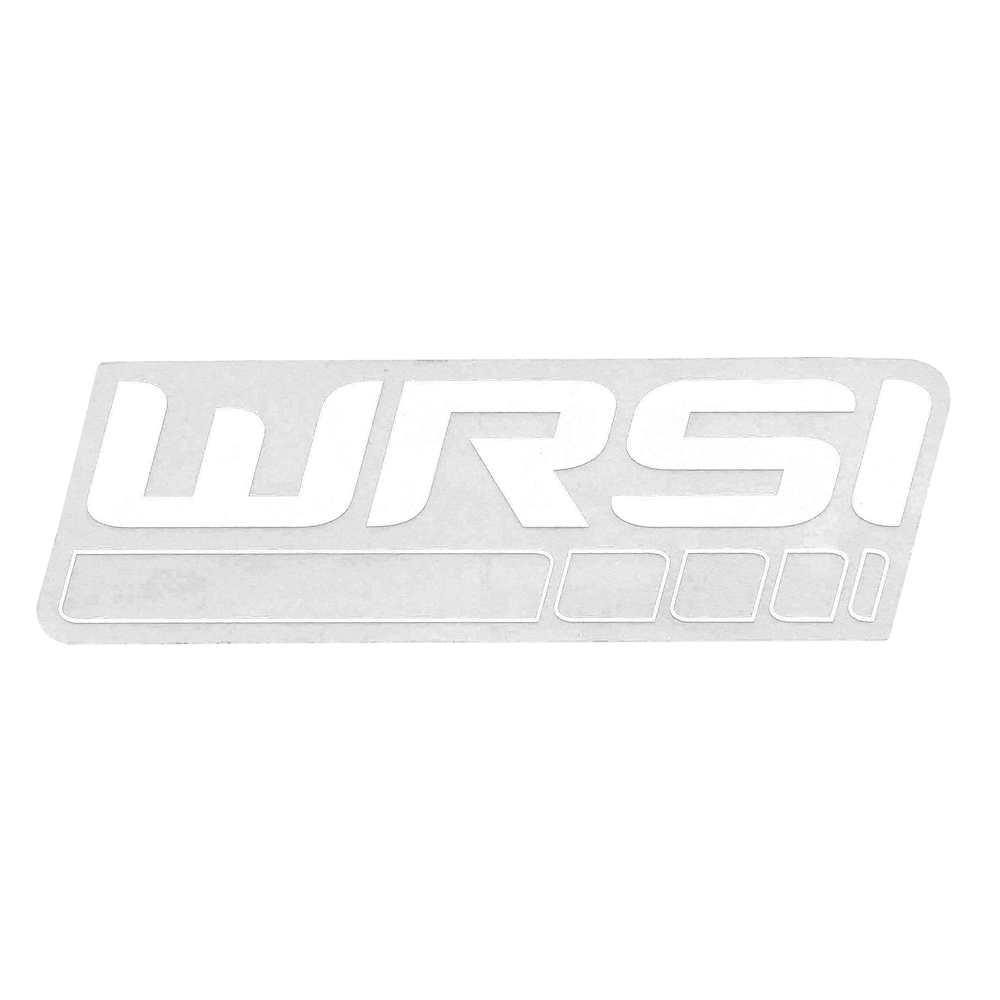 WRSI Logo Sticker