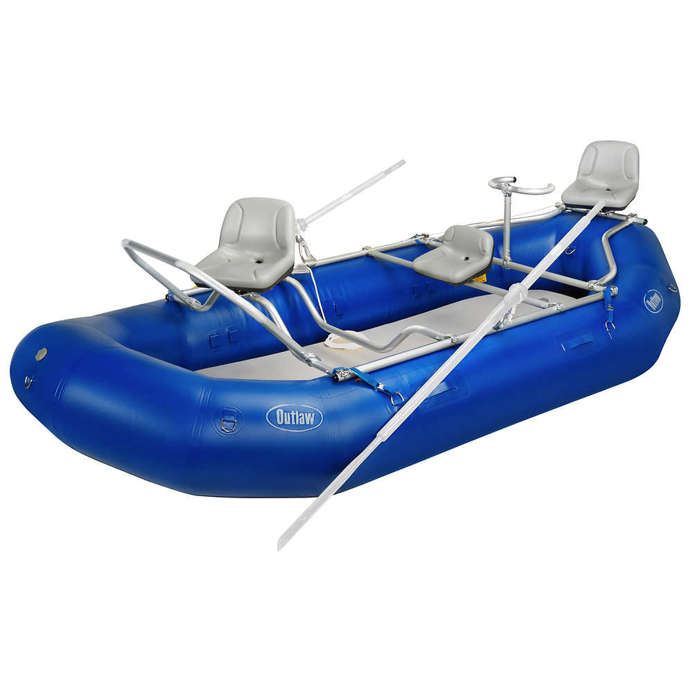 NRS Outlaw 142 Raft Fishing Package at nrs com
