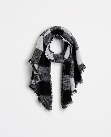 Thumbnail Image of Primary Image of Plaid Blanket Scarf