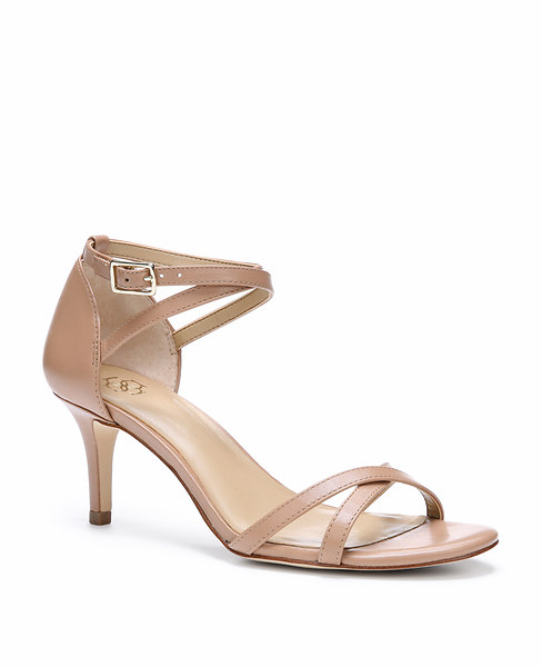 Ann Taylor Norris Strappy Leather Sandals, Luxury - Size 11