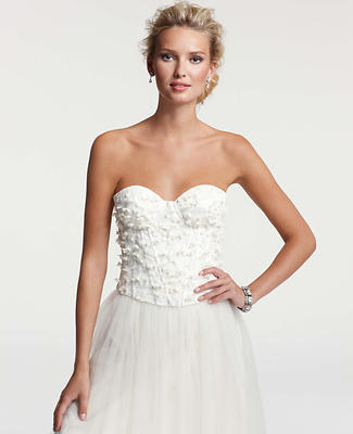 Chantilly Lace Bustier