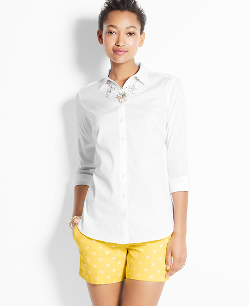 Perfect Long Sleeve Button Down Shirt