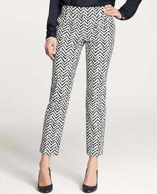Chevron Ankle Pants