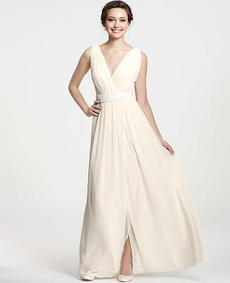 Goddess V-Neck Wedding Dress
