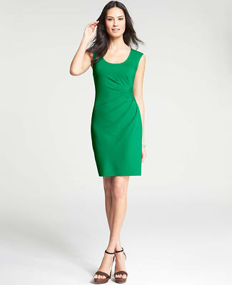Side Tuck Jersey Dress