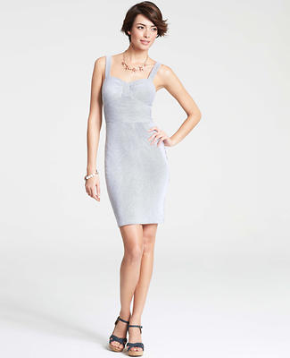 Seersucker Sheath Dress