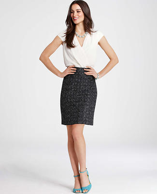 Cross Tweed Dress