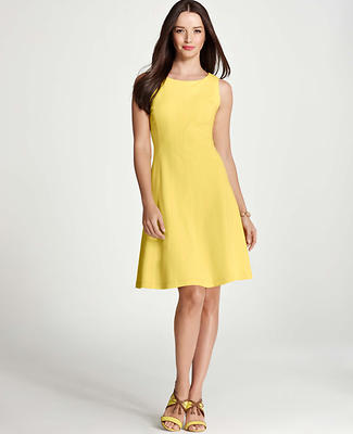 Ponte Flounce Dress
