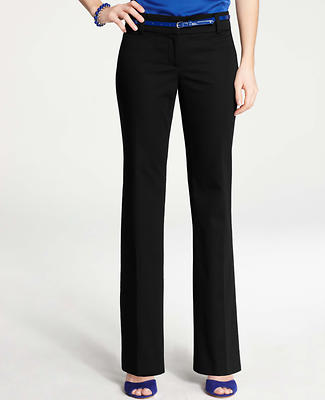 Modern Cotton Sateen Trousers