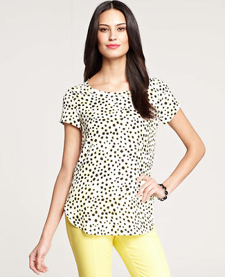 Cheetah Dot Top