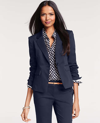 Petite Cotton Sateen Jacket