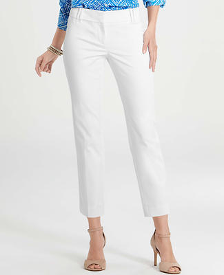 Modern Cotton Sateen Cropped Pants