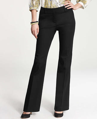 Curvy Cotton Sateen Trousers