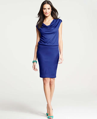 Blouson Cap Sleeve Dress