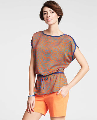 Balcony Stripe Tunic