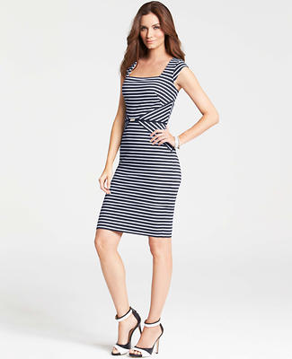 Petite Crossroads Stripe Dress