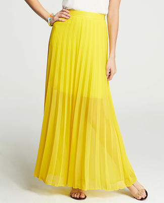 Sunlight Pleat Maxi Skirt