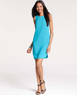 Shirttail Hem Sleeveless Dress