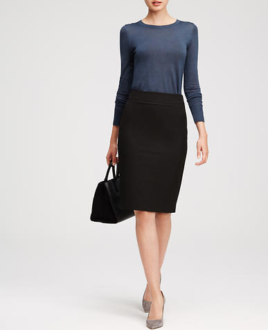 Image of All-Season Stretch Pencil Skirt