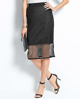 Illusion Pencil Skirt