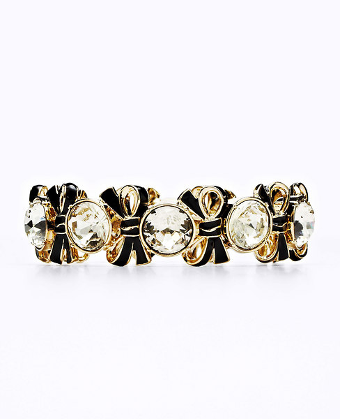 Ann Taylor Cocktail Bow Bracelet
