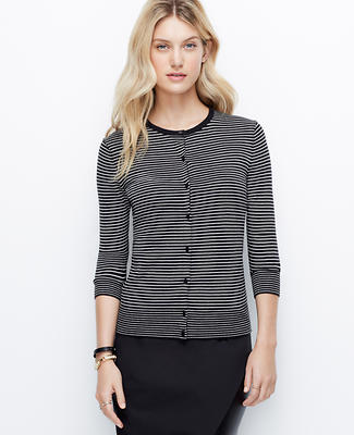 Striped Ann Cardigan
