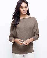 Cashmere Dolman Sleeve Sweater